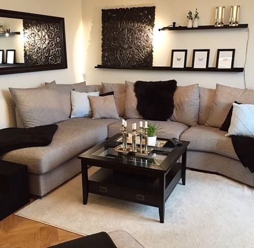 Amazing cool Livingroom or family room decor. Simple but perfect... - Pepi Home living room accessories