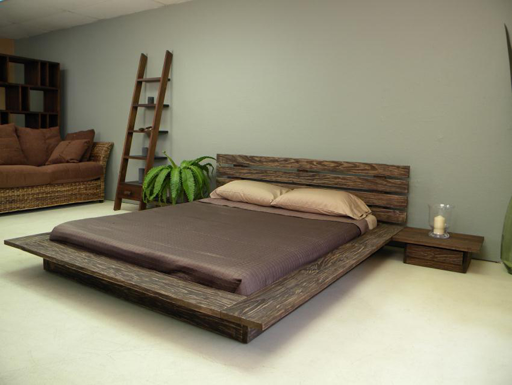 Modern Delta Low Profile Platform Bed low profile platform bed