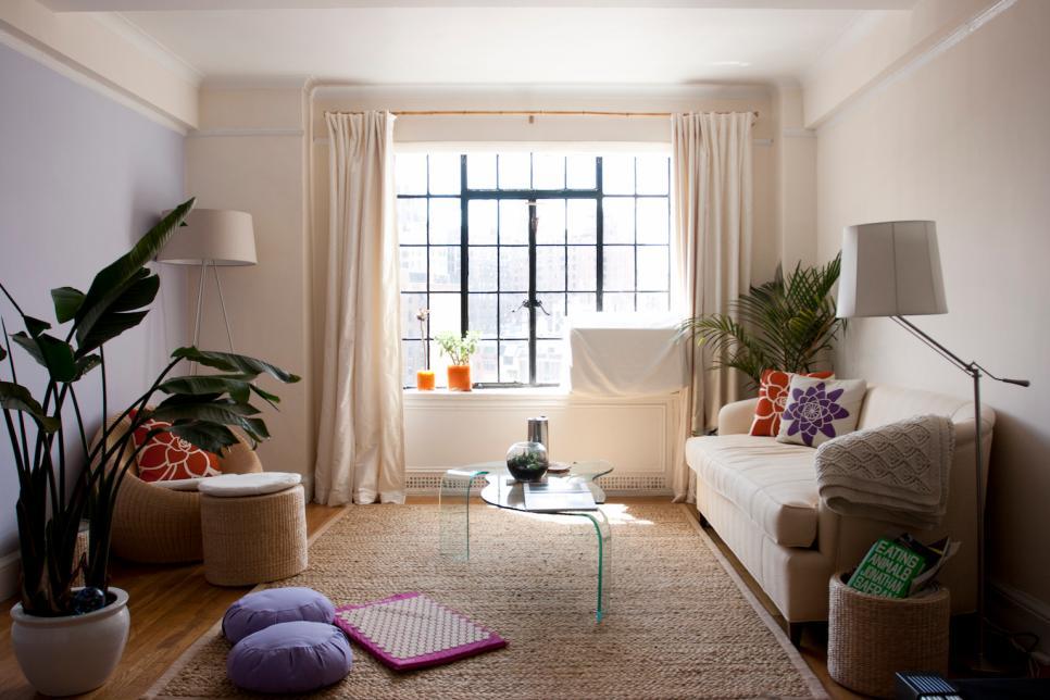 Luxury 10 Apartment Decorating Ideas   HGTV small apartment interior design