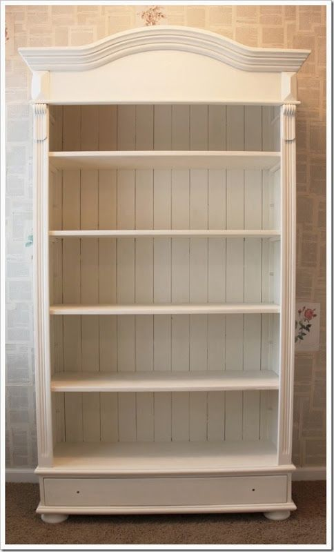 Luxury 25+ best ideas about Old Bookcase on Pinterest | Cheap bookcase, How to white wooden bookshelf