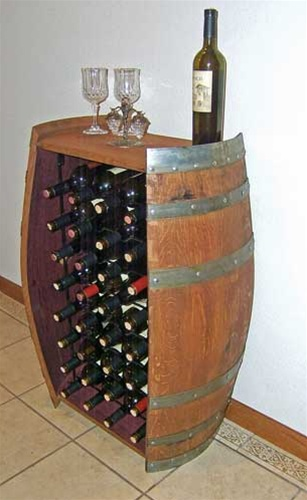 Luxury 32 Bottle Wine Barrel Wine Rack wine barrel wine rack furniture