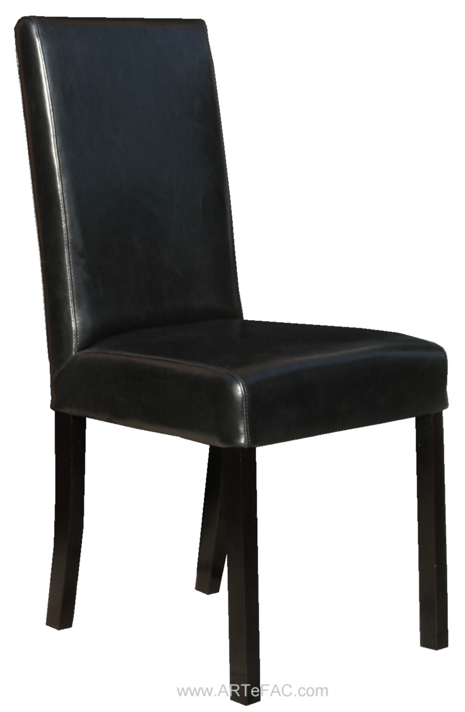 Luxury black dining chairs | Black Leather Dining Room Chairs and Leather Bar black leather dining room chairs