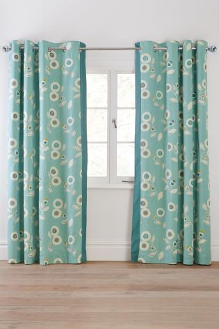 Luxury Buy Cotton Eyelet Curtains from the Next UK online shop | Living room next retro floral curtains