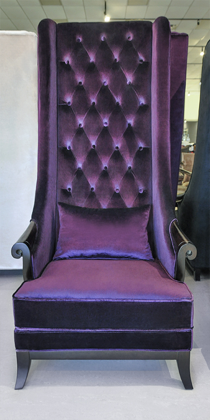 Luxury click to see larger image · High Back Wing Chair ... high back wing chair