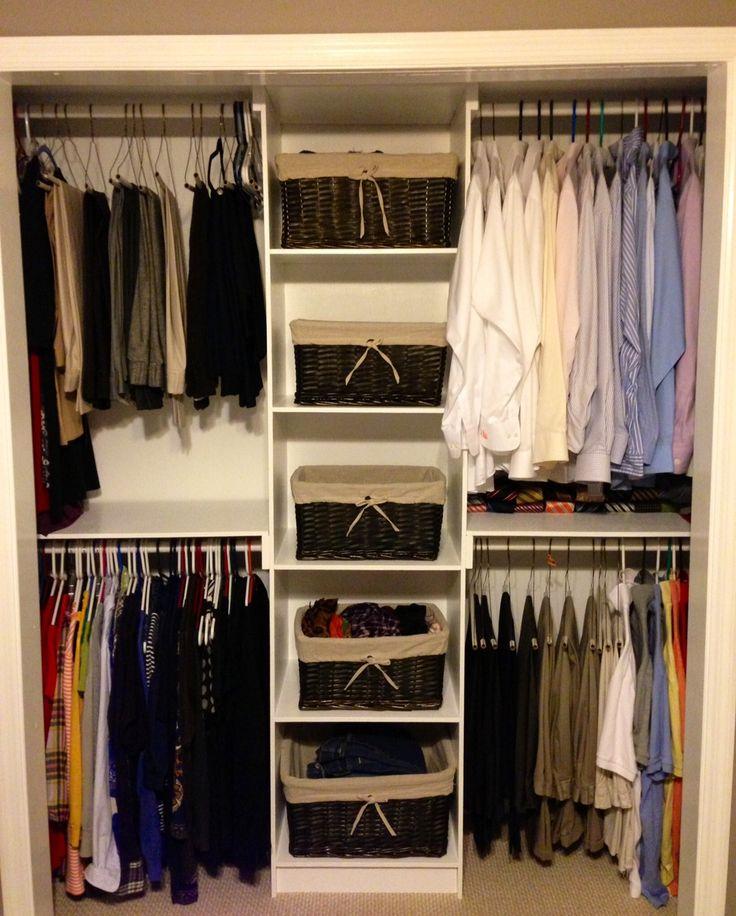 Luxury Cool Diy Closet System Ideas For Organized People cheap walk in closet organizers