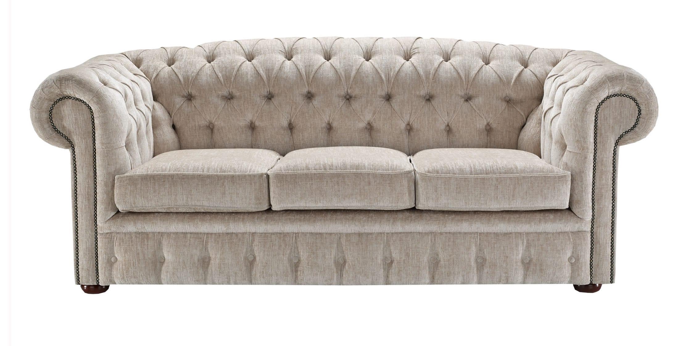 Luxury Cream Chenille Fabric Sample chenille fabric sofa