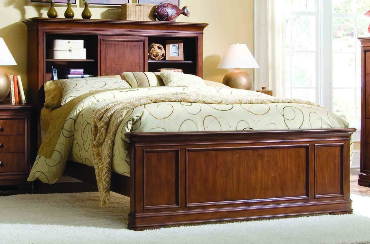 Luxury Full Image for Appealing Bedroom On Bookcase Headboard Queen Canada ... queen bed with bookcase headboard