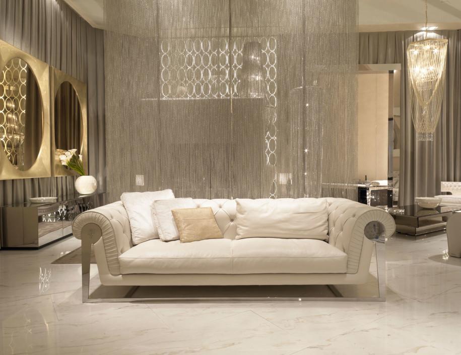 Luxury Futuristic Luxury Sofas Make Perfect Spacious Living Room Design: Stylish  Home luxury modern sofas