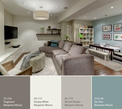 Luxury I like this color scheme for the living room and dining room...Family blue living room color schemes