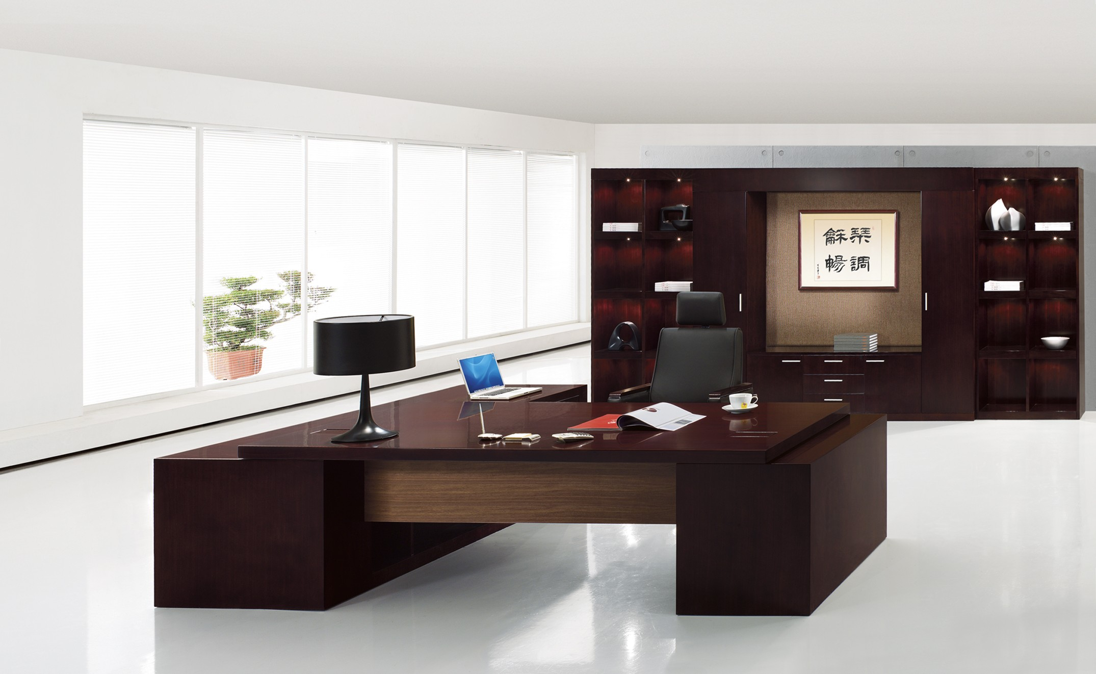 Superbe Luxury Kaysa Modern Desk Furniture Contemporary Executive Office Furniture