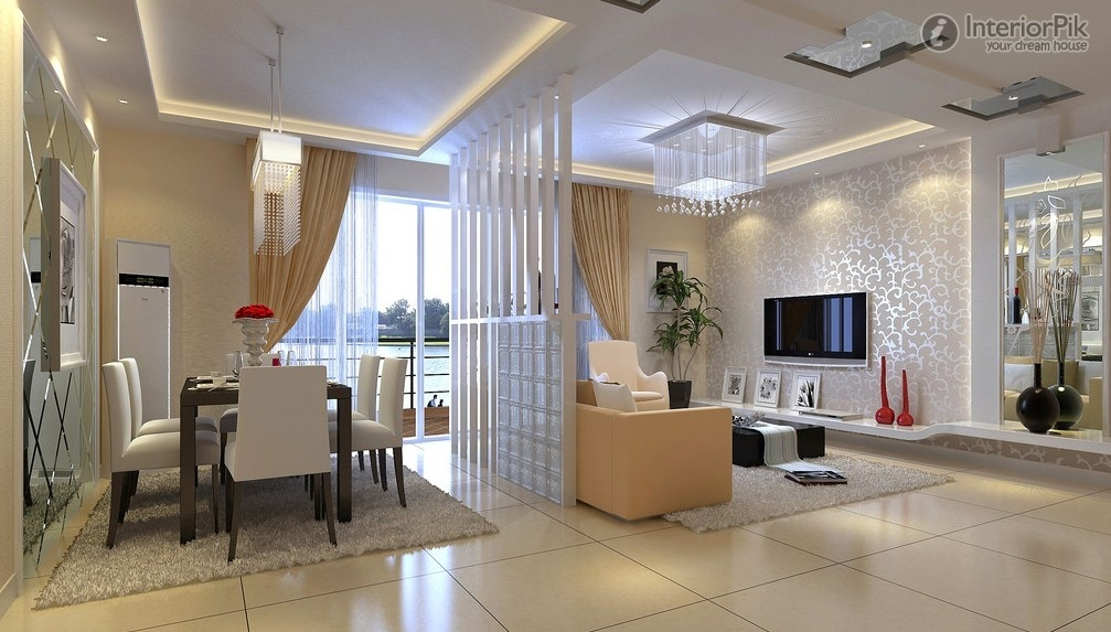 Luxury Living room dining room divider decoration design effect drawing. Find  thousands of drawing dining room decoration