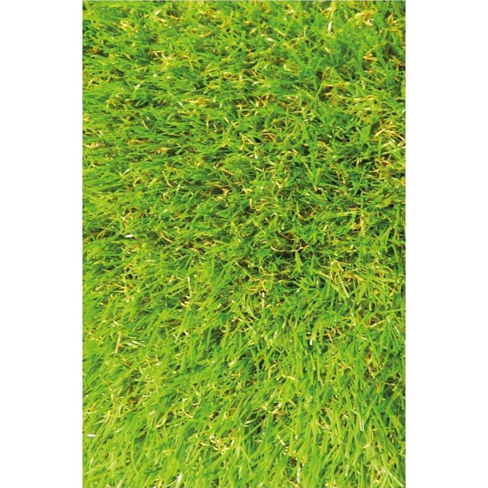 Luxury Ottomanson Garden Grass Green Indoor/Outdoor Area Rug grass area rug