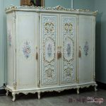 Royal touch to your with antique wardrobes