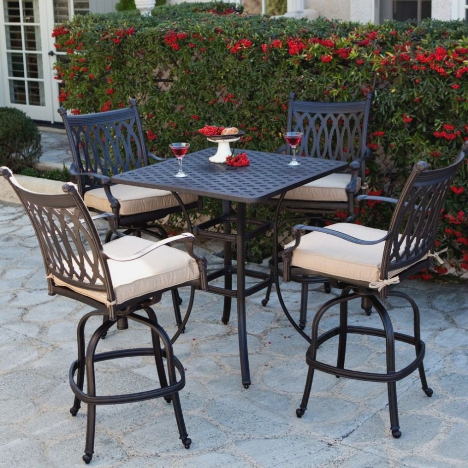 The bar height patio set to make your home look good & The bar height patio set to make your home look good ...