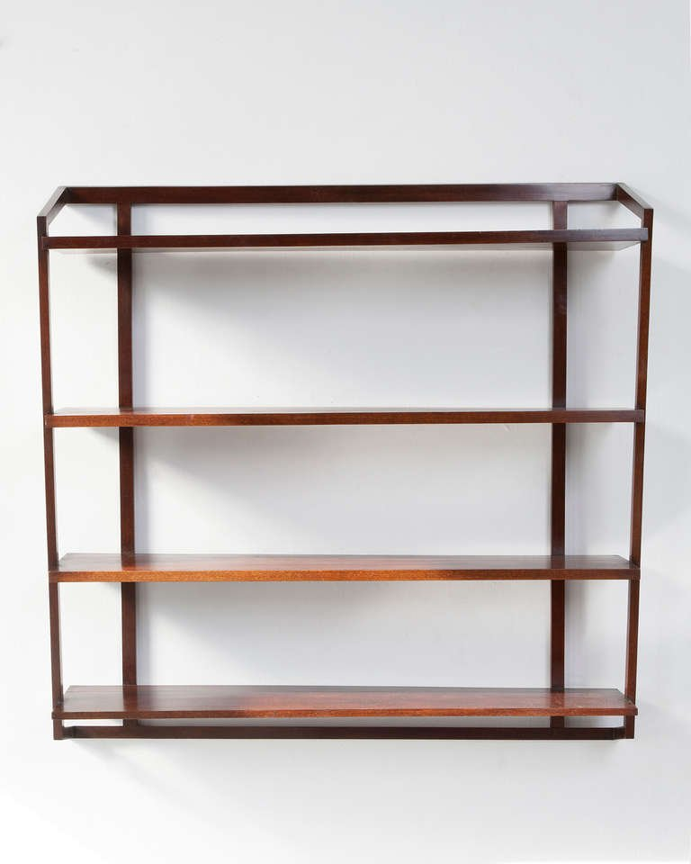 Create more space with wall shelving units Wall mounted bookcase shelves