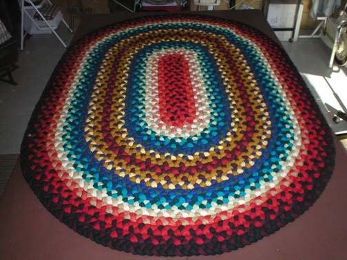 Master 5u0027 X 7u0027 Oval Braided Rug ·  oval braided rugs