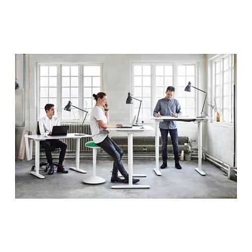 Master BEKANT Desk sit/stand - birch veneer/black - IKEA ikea sit stand desk