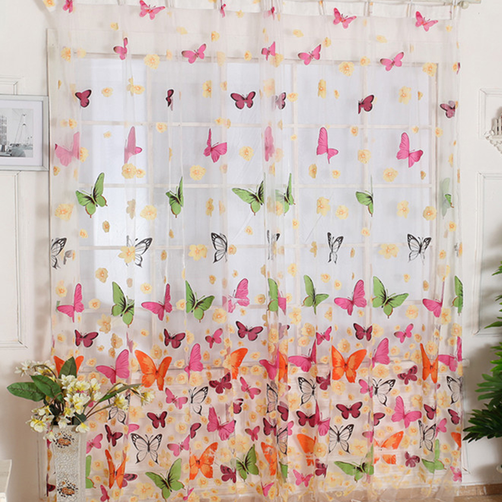 Master butterfly kitchen curtains butterfly kitchen curtains