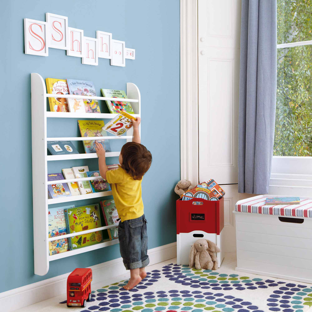 Master Children furniture wall mounted bookshelves for kids