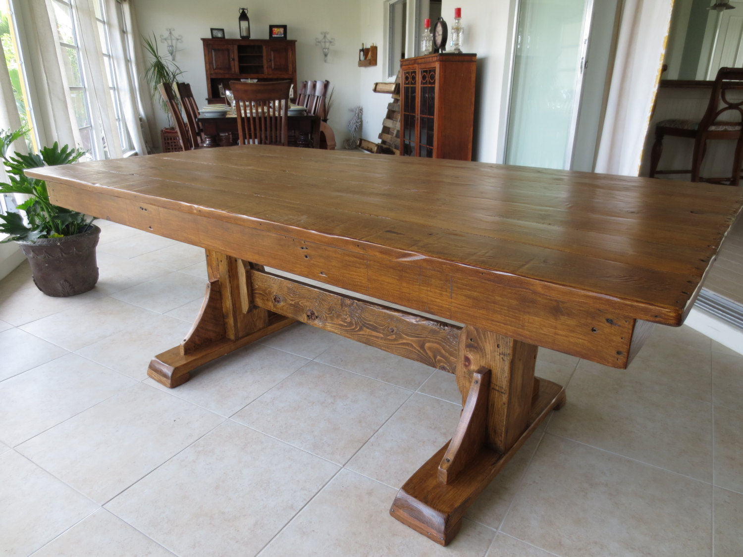 Master Dining Table Reclaimed Wood Room Tables Home Interior Ideas