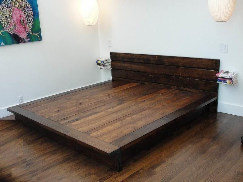 Master DIY King Platform Bed Frame platform bed frame