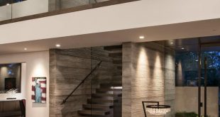Master Glass railings using U-channels. We can do the same for you! Modern-Touch contemporary home interior design