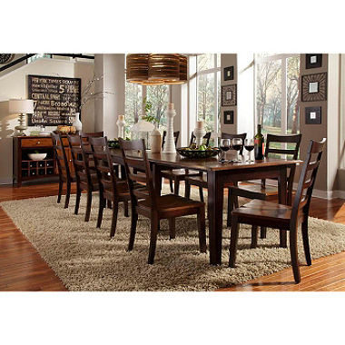 Master Layla Solid Wood Dining Set (Assorted Sizes) - Samu0027s Club solid wood dining set