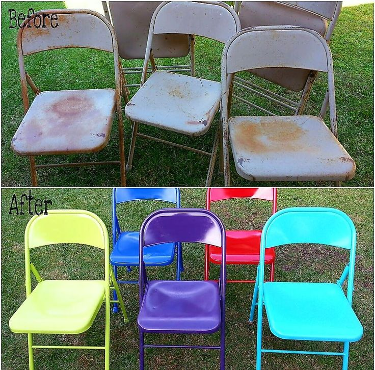 Master VINTAGE METAL CHAIR MAKEOVER. U201c Best Paint For Outdoor Metal  Furniture
