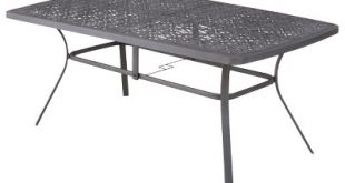 Beautiful Harper Steel Rectangular Patio Dining Table - Threshold™ metal patio table