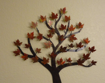 Tree pictures for wall decor