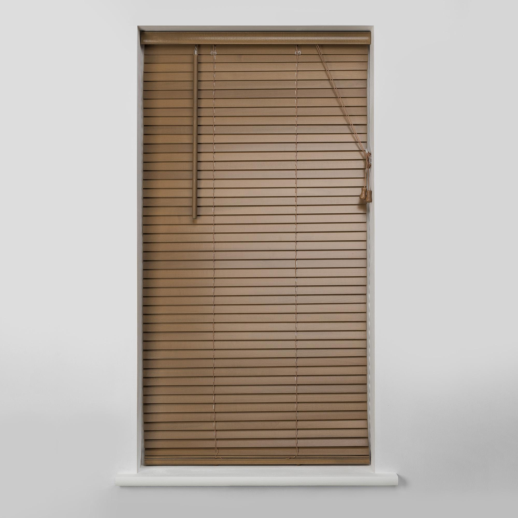 Modern 27mm Oak Wooden Venetian Blind wooden venetian blinds
