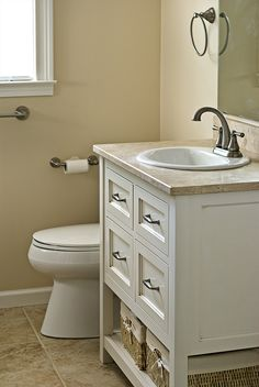 Modern 500px / Small Bathroom   Vanity By Danielbuilders Bathroom Vanities  For Small Bathrooms