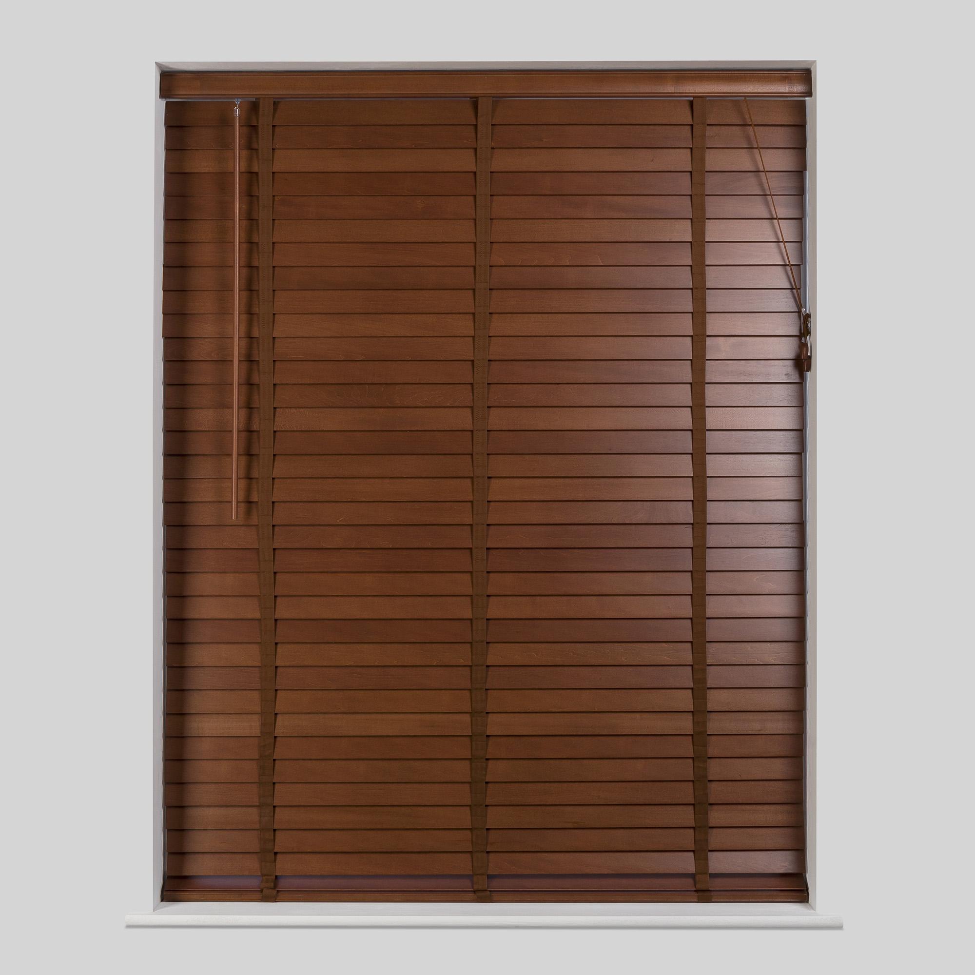Modern 50mm Acacia Hardwood Venetian Blind wooden venetian blinds