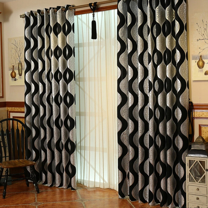 Modern Black and silver curtains can be the great choice for your house. black and silver curtains