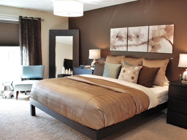 Elegant DP_Balis-chocolate-brown-master-bedroom_4x3 modern color schemes for bedrooms