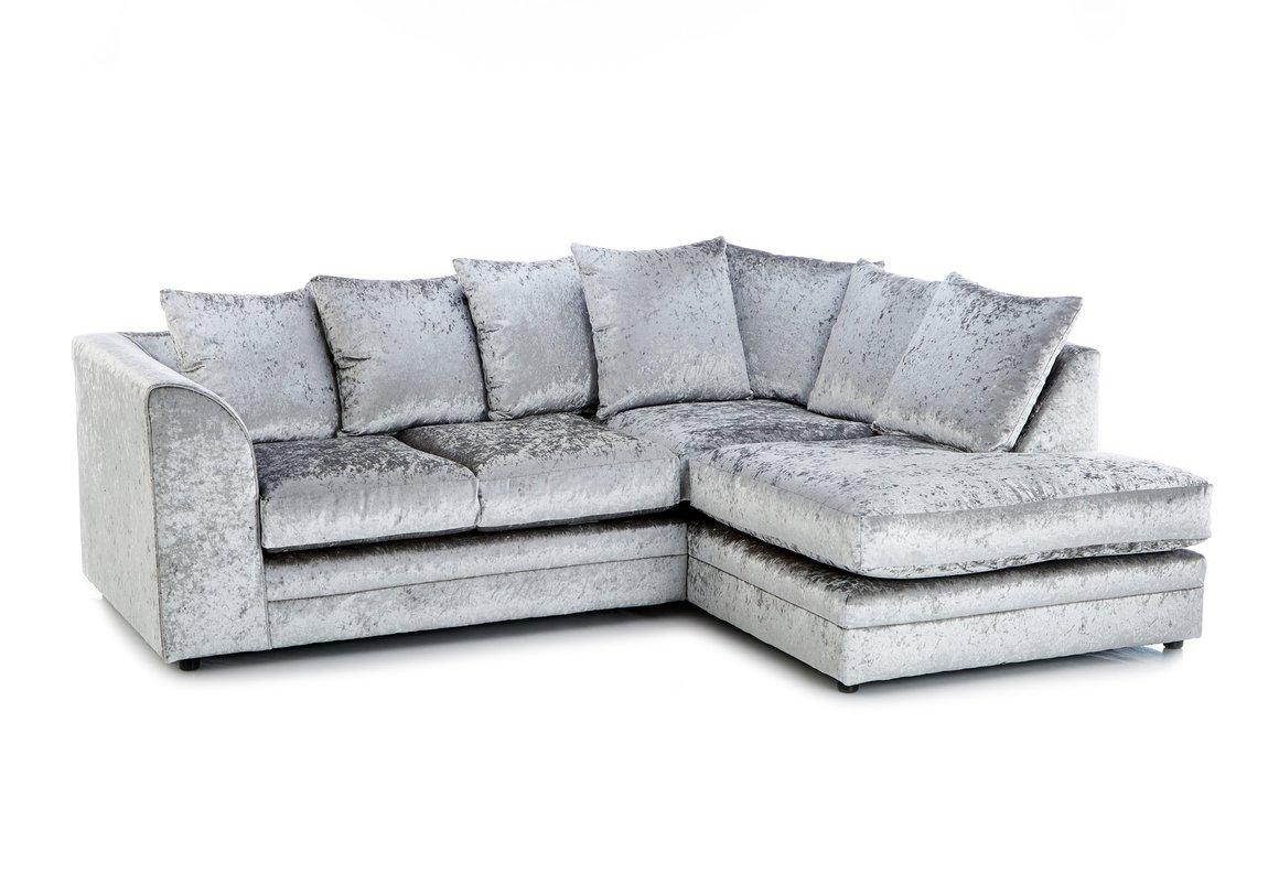 Modern Crushed Velvet Sofas crushed velvet sofa