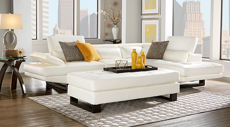 Awesome Interior Design Ideas for Lively up your white Living Room ...
