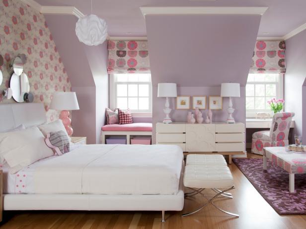 Modern Original_TobiFairley-Summer-Color-Flirty-Pink-Kids-Room_4x3 bedroom wall colour ideas