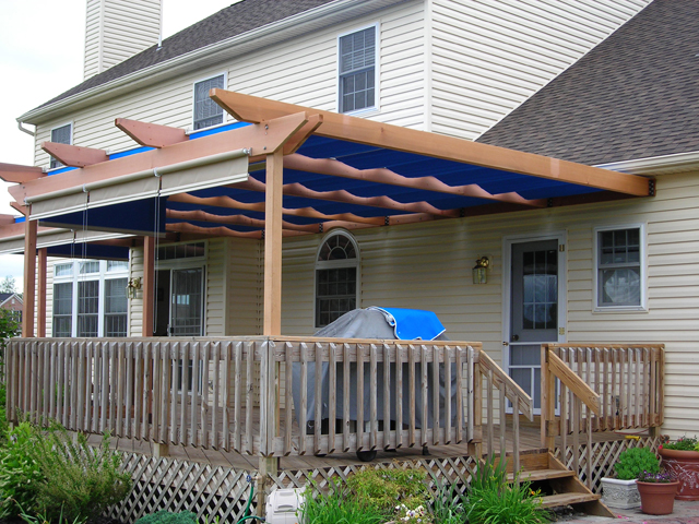Modern Pergola deck plans Beams and fasten it to the posts and the pergola designs for decks