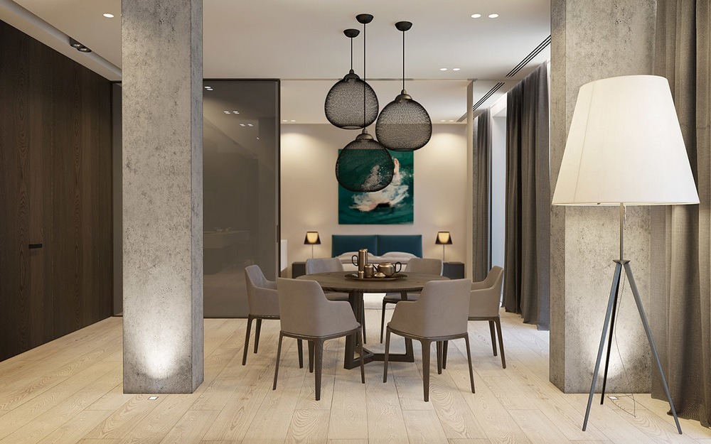 Modern simple-dining-room-design | Interior Design Ideas. simple dining room design