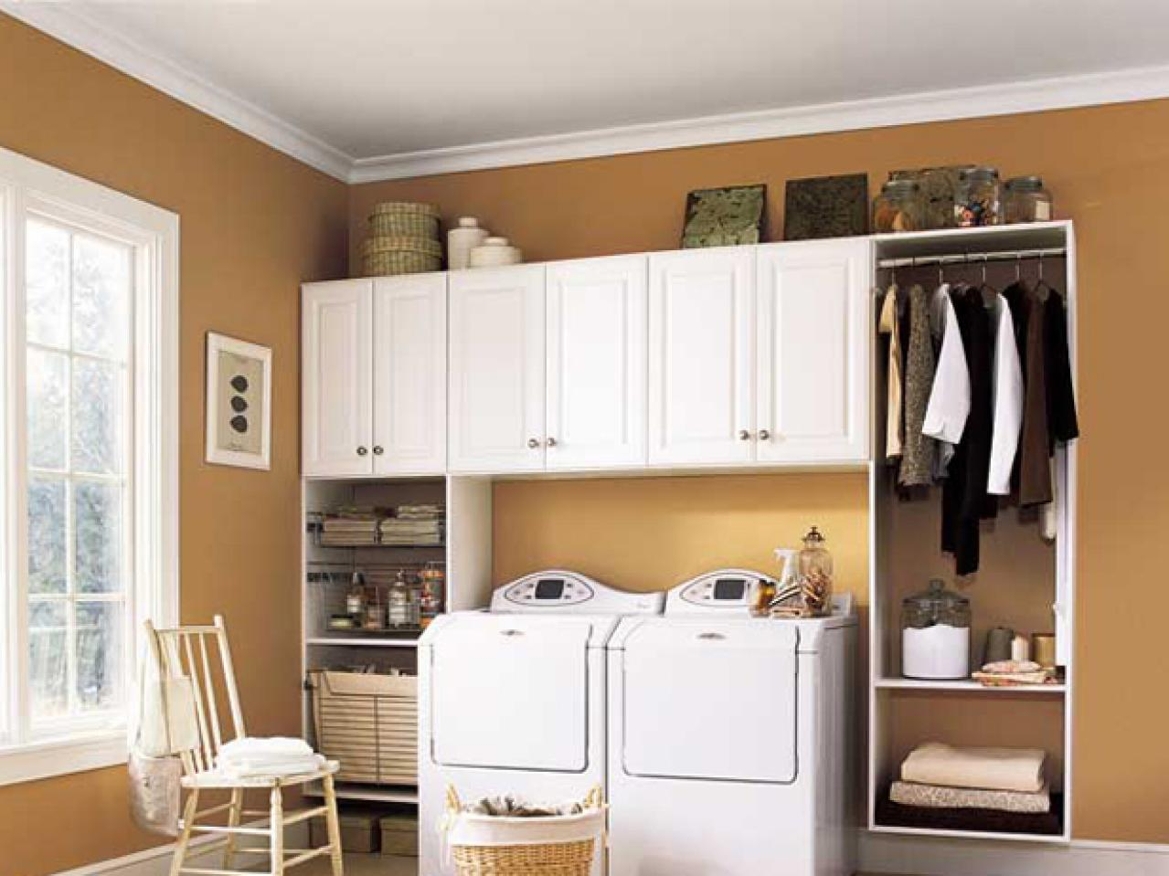 Modern Tags: laundry room storage cabinets