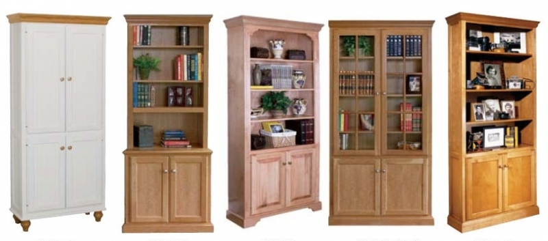 Modern The Advantages Of Solid Wood Bookcases throughout Solid Wood Bookcase with  Doors solid wood bookcases with doors
