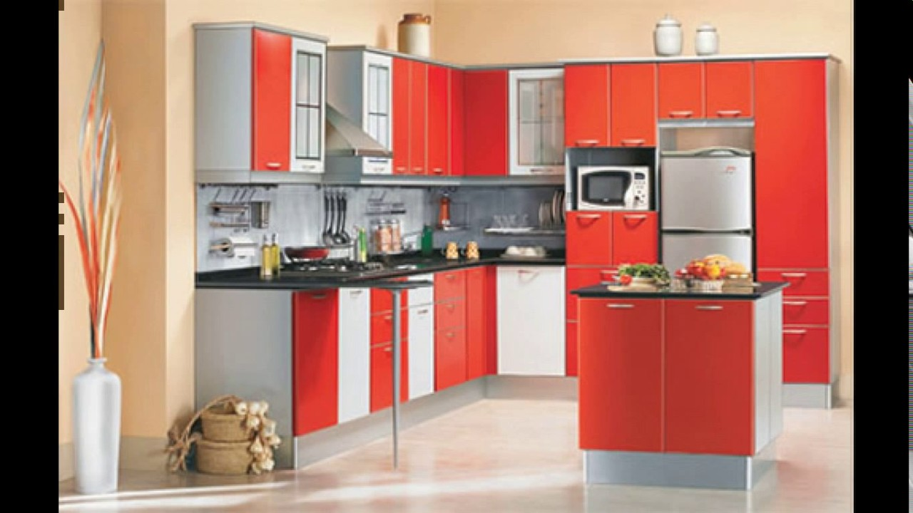 Get an attractive cooking area with modular kitchens for Kitchen designs for small kitchen