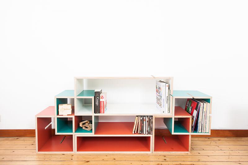 Photos of MoModul Modular Storage Furniture System by Xavier Coenen modular storage furniture