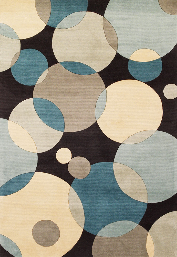 Beautiful Momeni New Wave NW-37 Teal Modern Area Rug momeni area rugs