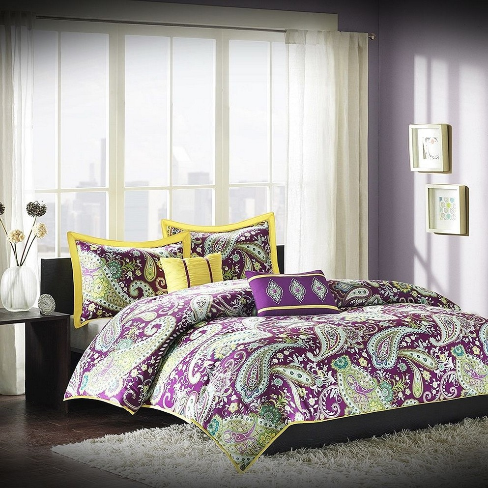 Splendid purple bedroom ideas that you will love for Bedroom designs purple