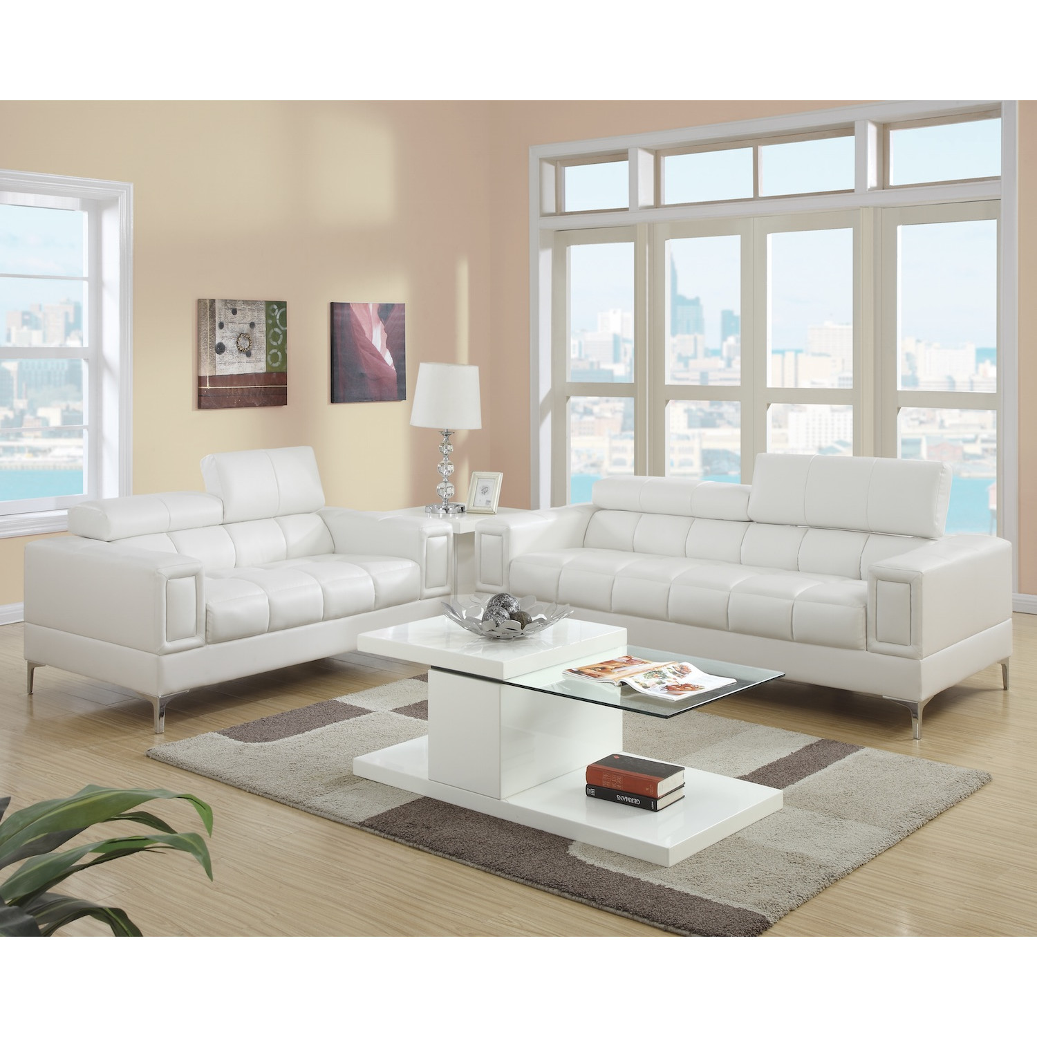 New QUICK VIEW modern living room sets