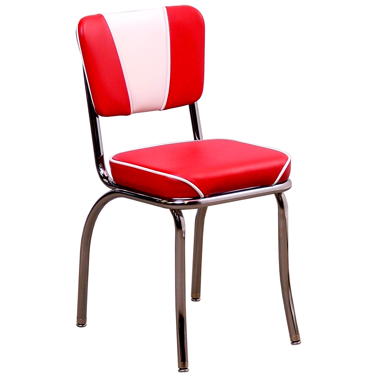 New V Back Diner Chair Classic Vinyl retro kitchen chairs