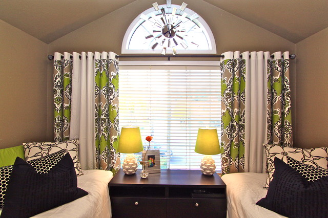 New Window Treatments Modern Bedroom modern-bedroom contemporary bedroom window treatments
