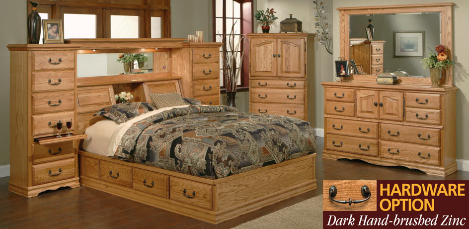Advantages of buying oak bedroom furniture - darbylanefurniture.com